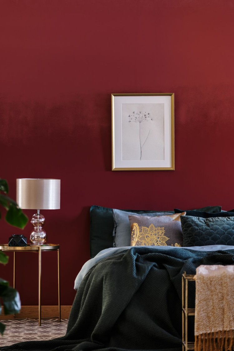 Color Meanings: The Perfect Decor Color that matches your Zodiac Sign - Scorpio-born are passionate and assertive people. They live to experience and express emotions. To better express Scorpio's personality, maroon is the color you should be decorating your home. This color is often used to represent intense and passionate things like confidence, creative thoughts, passion and courage.