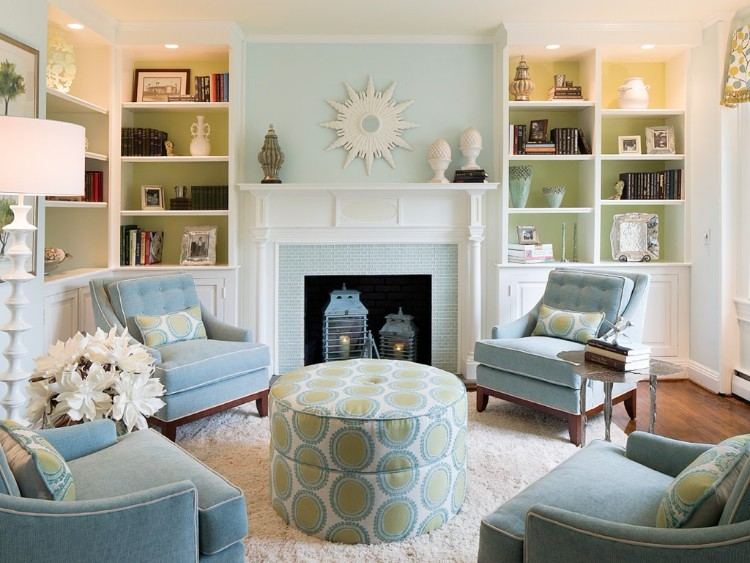 Color Meanings: The Perfect Decor Color that matches your Zodiac Sign - Virgos are always paying attention to the smallest details and their deep sense of humanity makes them one of the most careful signs of the zodiac.Since they think ahead before painting their walls and pick a color thatwill match everything. We suggest a light ice blue decor,which is a cool and calming color that shows creativity and intelligence.