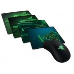 Combo Mouse Razer DeathAdder Essential + Goliathus Médio