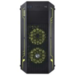 Gabinete PCYes Spirit c/ 3 Fans LED 7 cores - Mid Tower - SPIPTO7C3FCA2