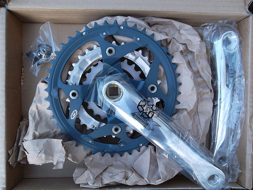 Shimano Deore LX chainset