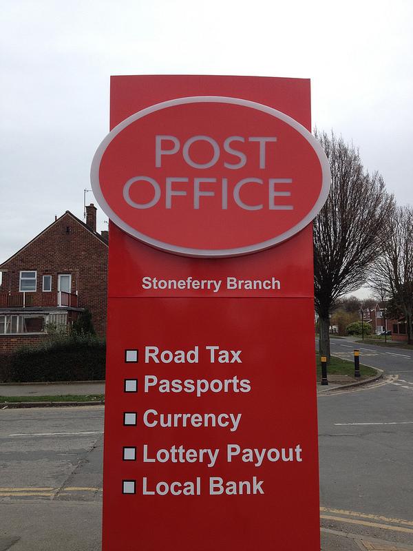 Post Office - Road Tax