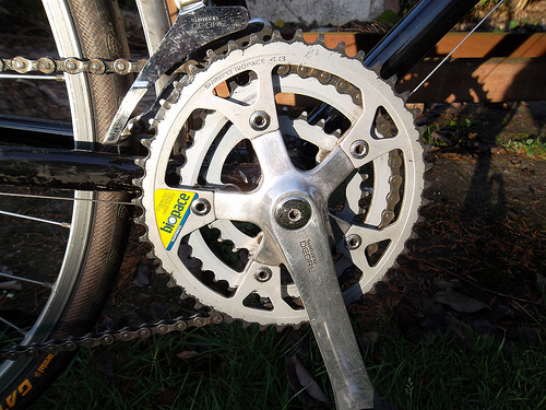 Shimano Deore MT60 chainset