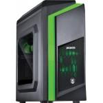 Gabinete PCYes Dwarf Verde c/ 2 Fans - Mid Tower - DWAPTOVD2FCA