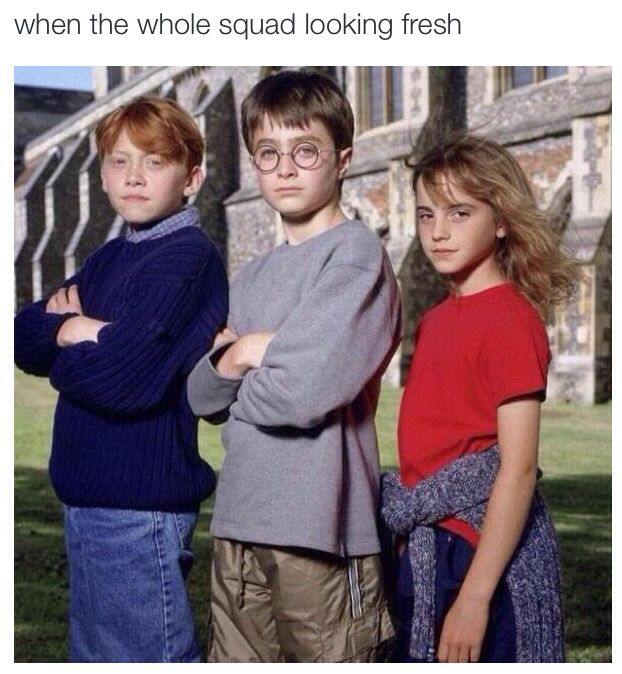 Image result for harry potter squad