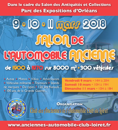 """Voir le diaporama du """"Salon des Automobiles Anciennes"""""""
