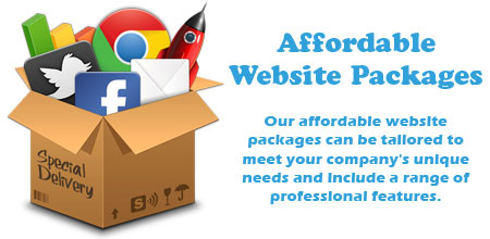 Cheap & Affordable Website Packages