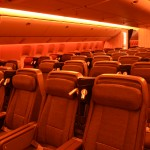 Premium Economy passengers will enjoy a much more spacious environment with a cabin designed for 8-abreast seats. (TIM JUE/ CALIFORNIA BEAT PHOTO)