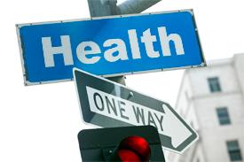 Health street street sign