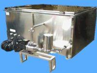 KQ-18K大型超声波清洗机是一款超声波功率18千瓦的大型工业清洗设备,该设备属于科强KQ系列大功率超声波清洗设备,该超声波清洗机采用了采用大功率IGBT模块...