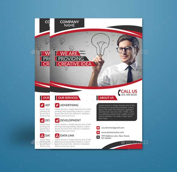 Download Business Flyer Template PSD