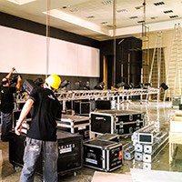 Alugar equipamentos de iluminação