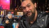 Momoa and Heard talk challenges and fashion at \