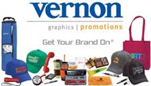 Gretchen Nielsen, account executive at Vernon Company, helps companies, non-profits and agencies get promotional products
