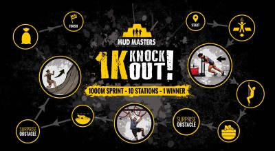 1K Knock Out Mud Masters