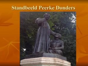1. Standbeeld Peerke Donders