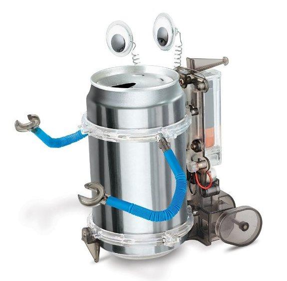 [ 降价20% ] 新低价!4M Tin Can Robot 易拉罐环保机器人玩具