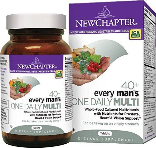 [ 降价4% ] New Chapter 新章 40岁以上男性每日一片综合有机营养片 96片