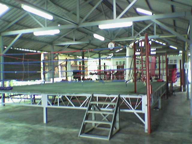 Visitor at Muay Thai in Thailand
