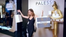 Payless set up a fake high-end store under the name Palessi in California. (Payless ShoeSource)
