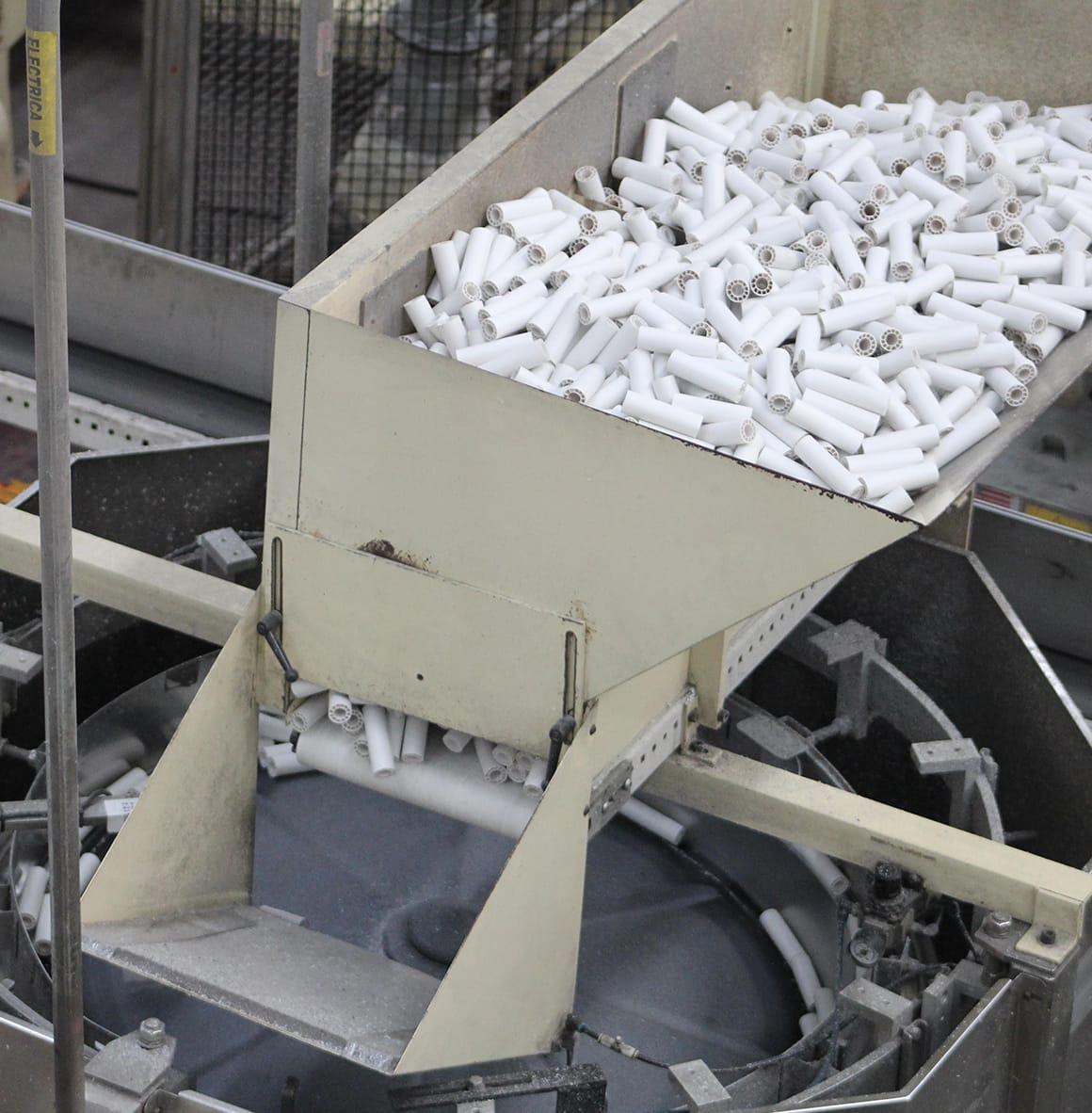 Centros Plásticos Reciclados