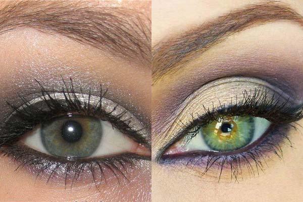 Какой цвет теней к цвету глаз подходит