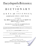 Encyclopaedia Britannica or a Dictionary of Arts and Sciences [...]