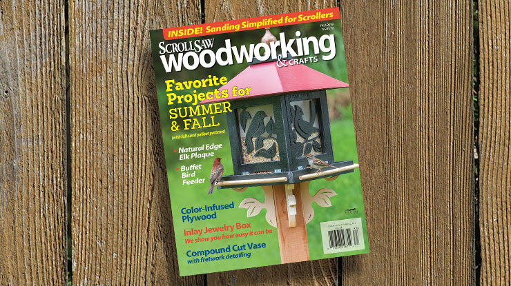 Scroll Saw Woodworking & Crafts Fall 2018    (Issue 72)