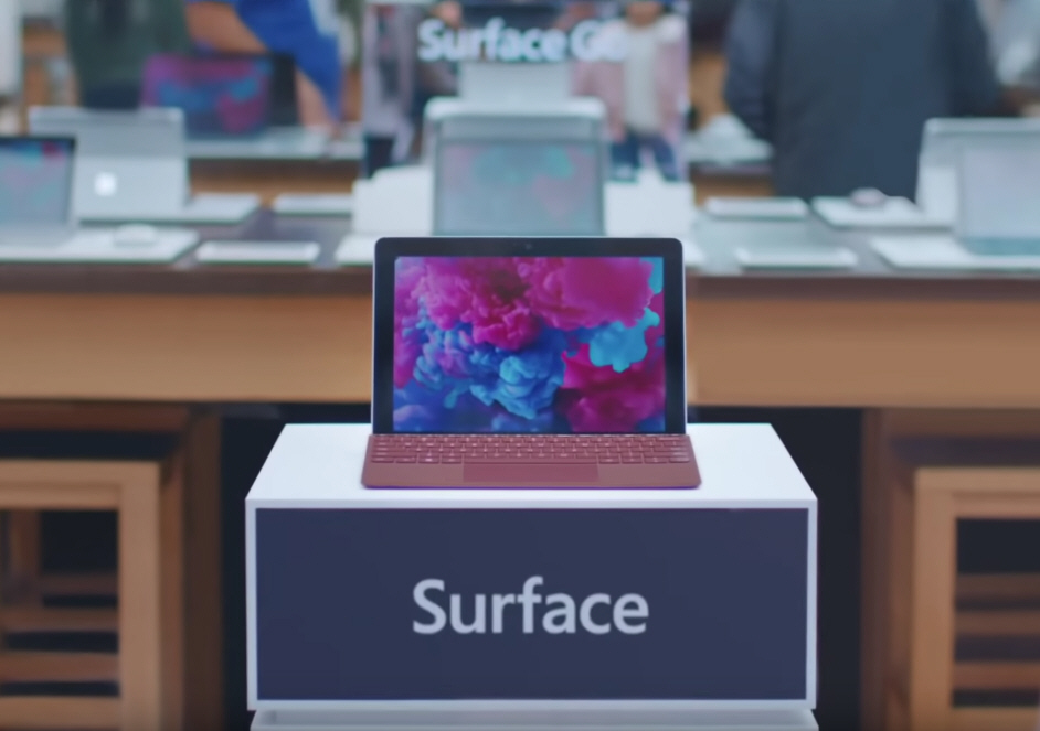 Microsoft says the iPad is fine for six-year-olds, but Surface Go is a 'real computer'