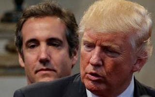 Michael Cohen once said he would take a bullet for his client Donald Trump