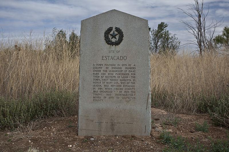 File:Estacado Texas historical marker 2011.jpg