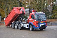 Volvo FMX + 20m3 sleepcontainer