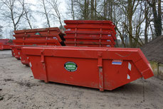 6m3 containerbak