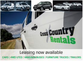 Cross country Rentals