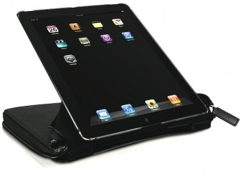 Macally BOOKSTAND-PRO, case and stand for iPad 4 & 3, black