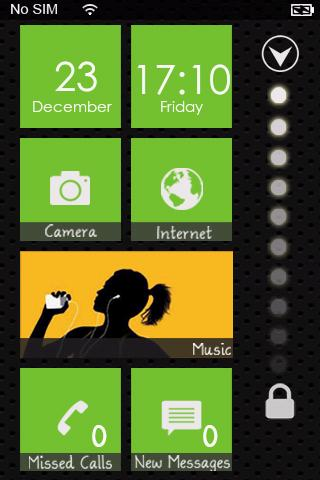 Windows Phone 7 Lock Theme Pro v1.7