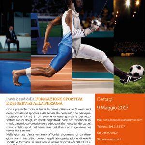 Weekend di Formazione Sportiva e dei servizi alla persona – C.R. Abruzzo