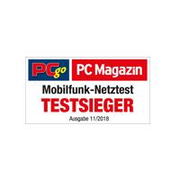 PC Magazin / PC Go 2018 Testsieger