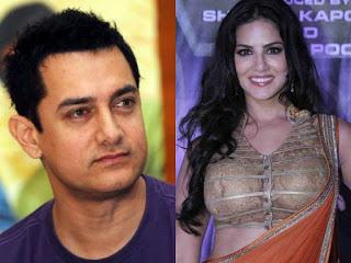Aamir Khan , Sunny Leone  Image