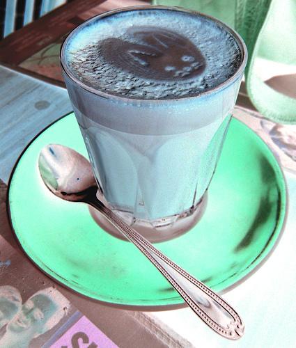 Noch ein Liebesbeweis im Kaffee