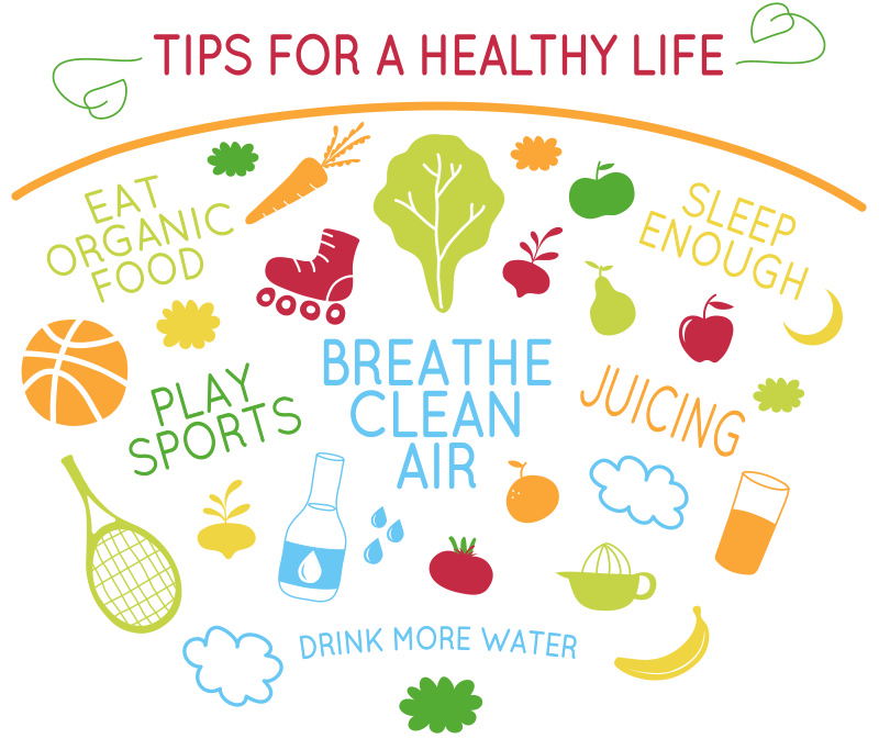 Tips for healthy life