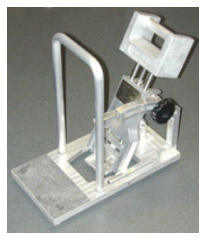 slip and fall testing device