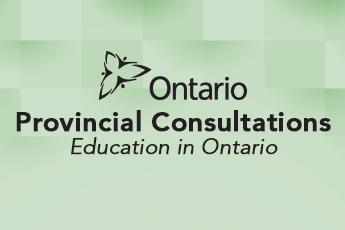 Consultation: Education in Ontario