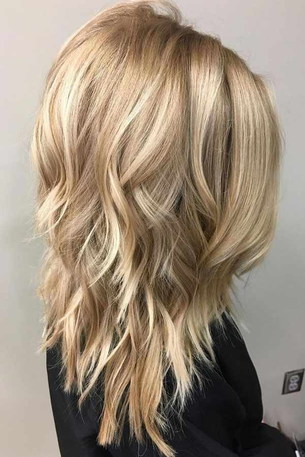 20 Awesome Semi Long Layered Hairstyles