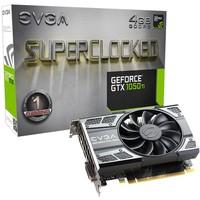 Placa de Vídeo VGA EVGA NVIDIA GeForce GTX 1050 Ti..