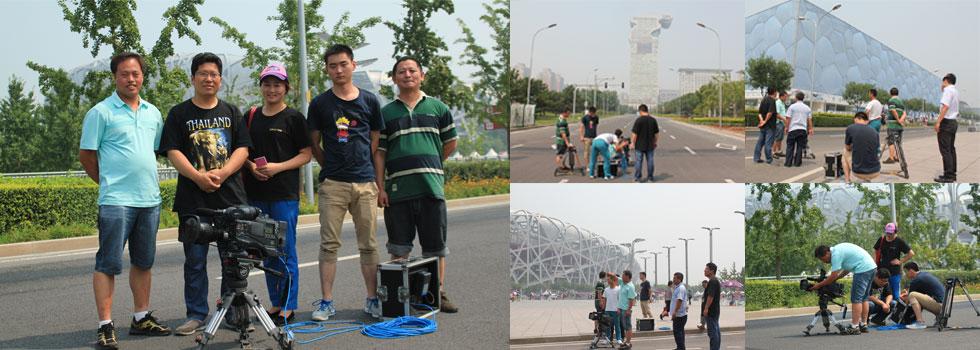 北京环卫集团拍摄花絮