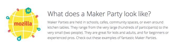 maker party Mozilla Foundation