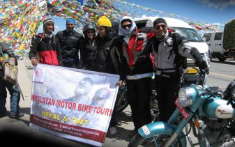 Everest Motorcycle tour to Tibet