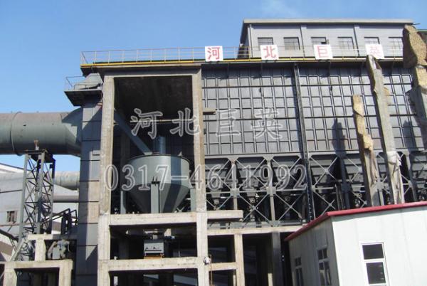 唐银钢铁公司混铁炉袋式除尘器(10000平米)