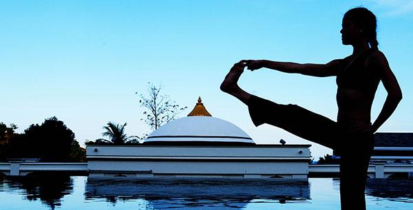 Absolute Sanctuary Pool Yoga